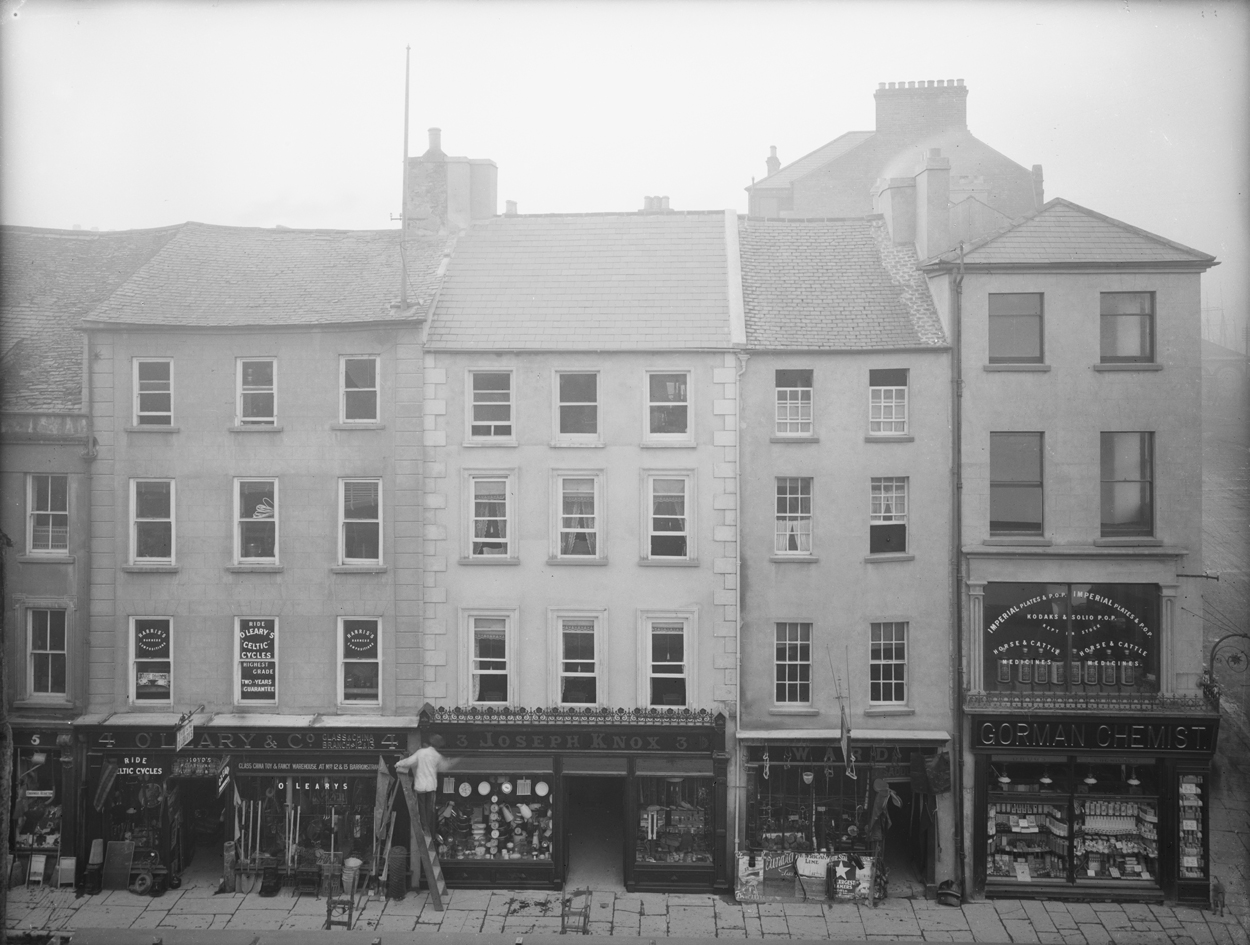 Barronstrand Street Co Waterford 1907 - National Library of Ireland Ref Number P_WP_1732